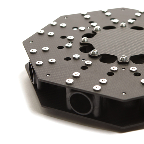 ARTCOPTER Carbon Center Plate (Φ25)
